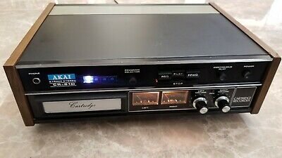Vintage Akai 8 Track Stereo Cartridge Recorder CR-81D