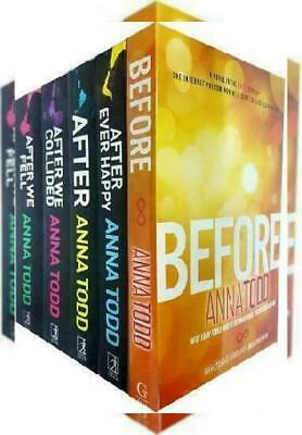 Anna Todd's The After Series 5 Books Set (After Ever Happy, After, We Collided