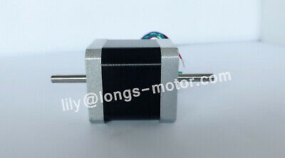 1PC Nema17 Stepper Motor 17HS8403NB Dual Shaft 4-Lead 2.5A 70oz-in LONGS CNC KIT