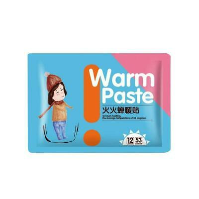 10x Warmer Stick Keep Paste Pads Body Lasting Heat Hand Warm.A Patch Foot D0N5