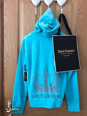 BNWT JUICY COUTURE set Size Large velour hoodie RRP £195 100% Genuine BNWT