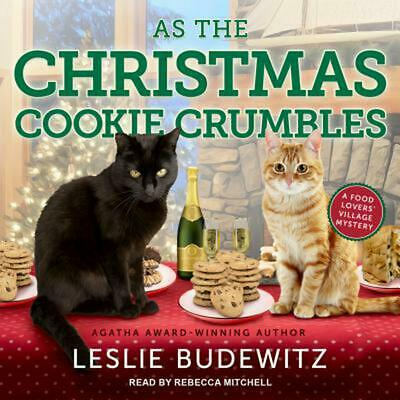 As the Christmas Cookie Crumbles by Leslie Budewitz (English) MP3 CD Book Free S