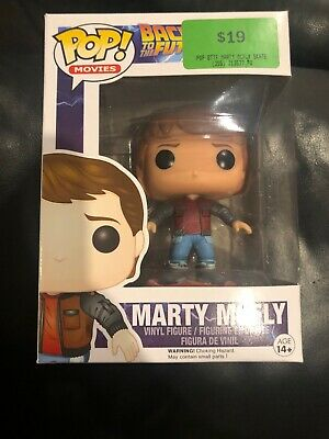Back To The Future Marty McFly Hoverboard US Exclusive No.245 Funko Pop! Vinyl