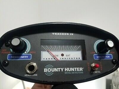 Bounty Hunter TK4 Tracker IV Metal DetectorNEW and UNUSED