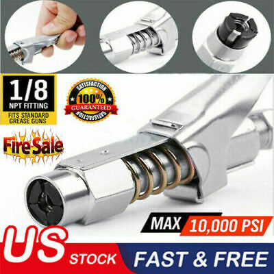 "8000 PSI Coupler 1//8/"" NPT Grease pressure resistant Injection 1pc Grease Gun"