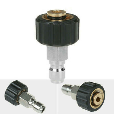 Quick Connector Female M22/14 To 1/4 Male Adapter For Pressure Washer Connect