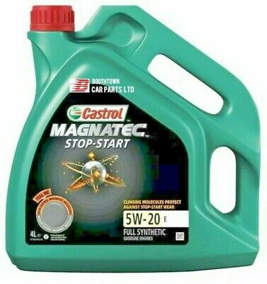 Castrol Magnatec Stop-Start 5W-20 E Fully Synthetic Engine Oil - 4 Litres 4L