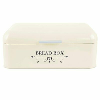 11 L Metal Bread Box Holder Loaf Storage Home Kitchen Storage Bin Containers