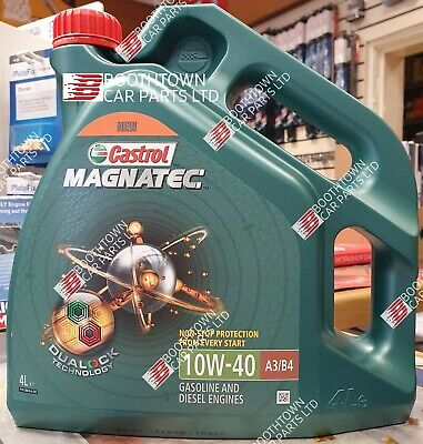 Castrol Magnatec 10w 40 4L Car Engine Oil 4 Litres SAE 10W40 A3 B4 Synthetic
