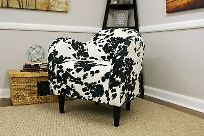 Strange Easy Chair Cowhide Mid Century Modern Pony Hide Accent Chair Evergreenethics Interior Chair Design Evergreenethicsorg