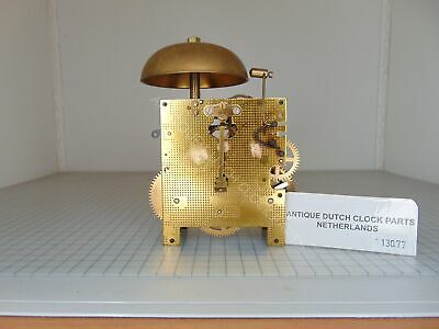 Clockwork For Warmink Salland Clock Uw 7/47 Overhauled
