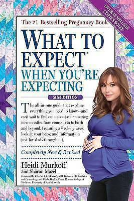 NEW What to Expect When You're Expecting by Heidi Murkoff (Free Shipping)