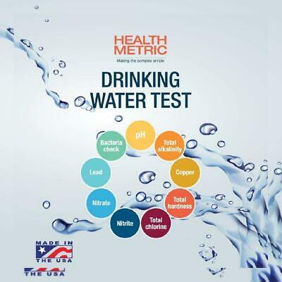 Drinking Water Test Kit For Municipal Tap and Well  Simple Testing Strips