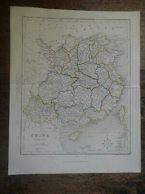 Antique Map 'China Proper.' By J. Archer / Appleton C.1855 100% Original