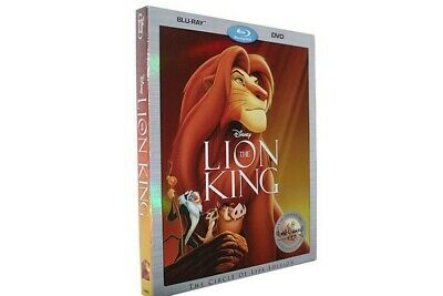 Disney's The Lion King Blu-Ray DVD Digital The Circle Of Life Edition New Sealed