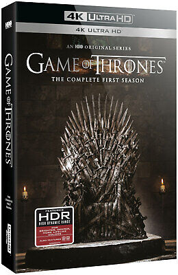 Game Of Thrones - Complete first Season (4K Ultra HD) *NEW*