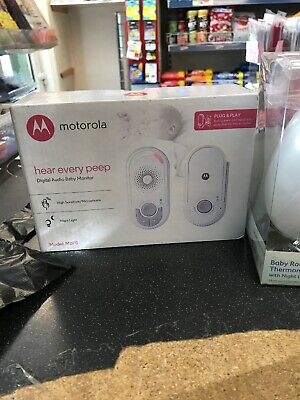 3 X Baby Monitor, Night Light And Thermometers. Rrp £85 New