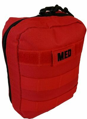 Elite First Aid Tactical Trauma Kit #1, Police EMS Military LE, RED