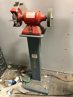 Superb Used 8 Baldor Grinder 8107W With Heavy Duty Stand 3 4 Hp Pdpeps Interior Chair Design Pdpepsorg