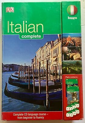 DK Hugo Italian In Three Months Complete Language Course CDs and Books Set