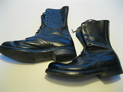 USAF Viet Nam McNamara Leather 2nd Pattern Boots sz 10 R Dtd 7-67