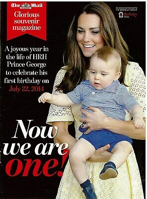 This Mail  celebrating the first birthday of HRH Prince George on July 22 2014