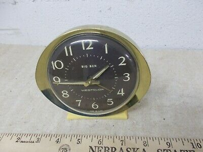 Vintage WestClox Big  Ben Wind Up alarm Clock  USA Made NICE