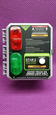 KELLY STAR 2 TRUK STOP 6013859 120VAC 1PH 60Hz VEHICLE TRAILER RESTRAINT New !