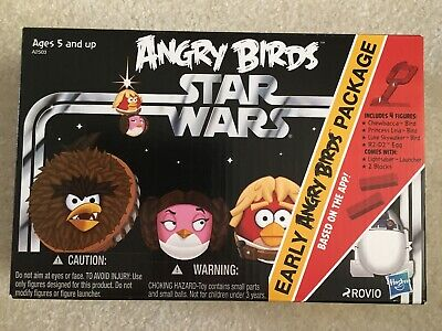 Hasbro Star Wars Angry Birds Early Angry Birds Package - Action Figures 2012 NIP