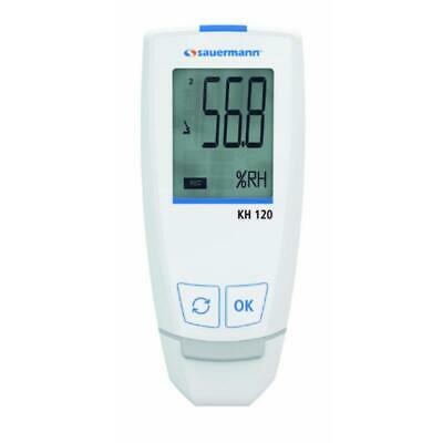 Sauermann KH120 Temperature and Humidity USB Data Logger with Alarm