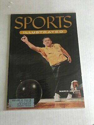 Sports Illustrated March 28, 1955 Vol 2 N 13 - Bowling - US Champion Steve Nagy