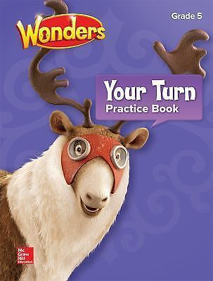 Reading Wonders Your Turn Practice Book Grade 5 New