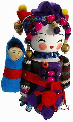 Chinese Minority Ethnic Souvenir Collector Doll 5""