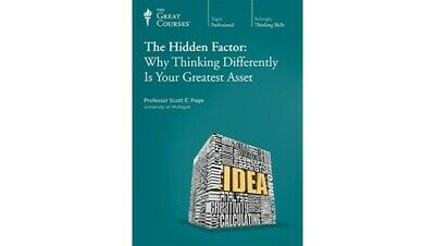 The Hidden Factor: Why Thinking Differently Is Your Greatest Asset AUDIO BOOK
