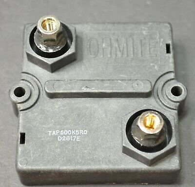 Ohmite Non-Inductive Film 600W Load Resistors For Audio Amp Testing - Best Type!