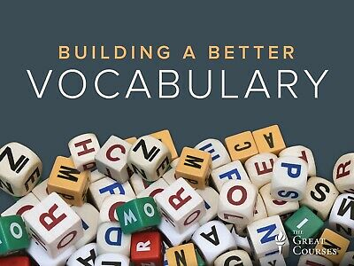 Building a Better Vocabulary The Great Courses AUDIO BOOK