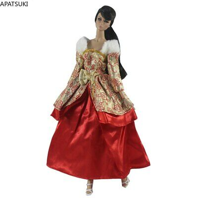 "Fashion Doll Clothes For 11.5"" 1/6 Doll Dress Princess Gown Party Dresses Outfit"