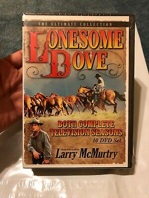 Lonesome Dove DVD Set- Both Complete TV series 10 DVDs New Sealed Free Shipping