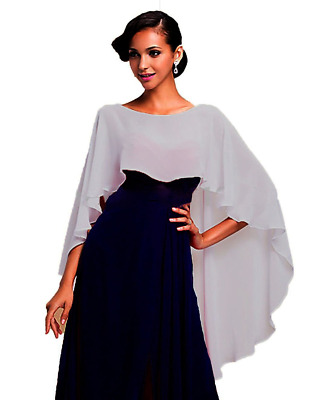 SHAWLS AND WRAPS for Evening Dresses Chiffon Wedding Capes Soft