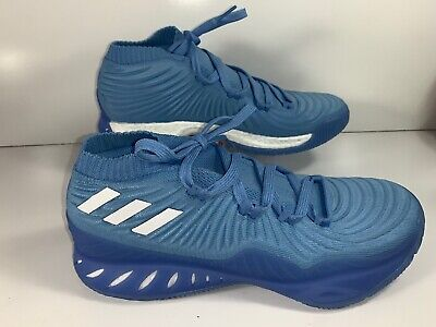 detailed pictures 7bcf5 aacfc ADIDAS CRAZY EXPLOSIVE Low 2017 Primeknit Boost Sneaker Baby Blue Size 11  B75924