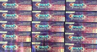 ✦ New ✦ Lot Of 15 Crest 3D White Toothpaste 3 Oz Each **Free Shipping**