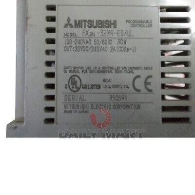 New In Box MITSUBISHI PLC FX2N-32MR-ES/UL Programmable Controller