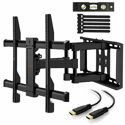 Support Mural TV Ecrans 37-70 Pouces LED LCD Plasma Courbe Inclinable Orientable