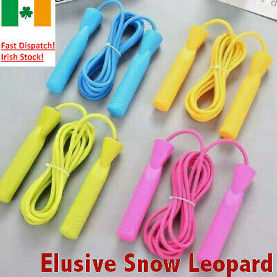 Kids Skipping Rope Adjustable Wooden Children Exercise Jumping Game Fitness