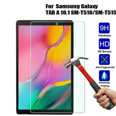 """For Samsung Galaxy Tab A 10.1"""" T510 Tablet Tough Tempered Glass Screen Protector"""