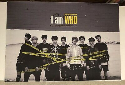 Stray Kids I Am Who Official Unfolded Poster