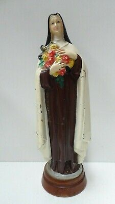 Vintage Italian Made Religious Holy Statue St. Theresa  Church