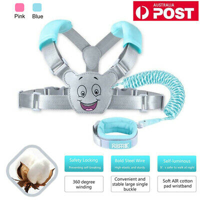 Cartoon Baby Walking Harness Toddler Kids Anti-lost Safety Shoulder Strap Belt