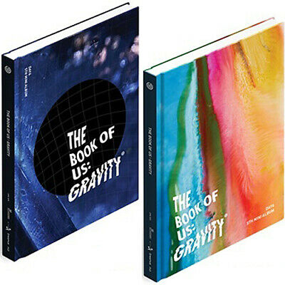 DAY6 THE BOOK OF US:GRAVITY Mini Album CD+POSTER+Book+3Card+Mark+Pre Order+GIFT