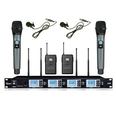 Professional wireless microphone handheld Lapel For cordless microphone system